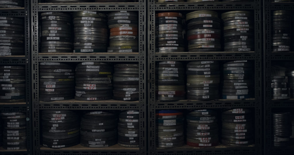 Still from What We Left Unfinished (Indexical Films, 2019): the Afghan Films archive